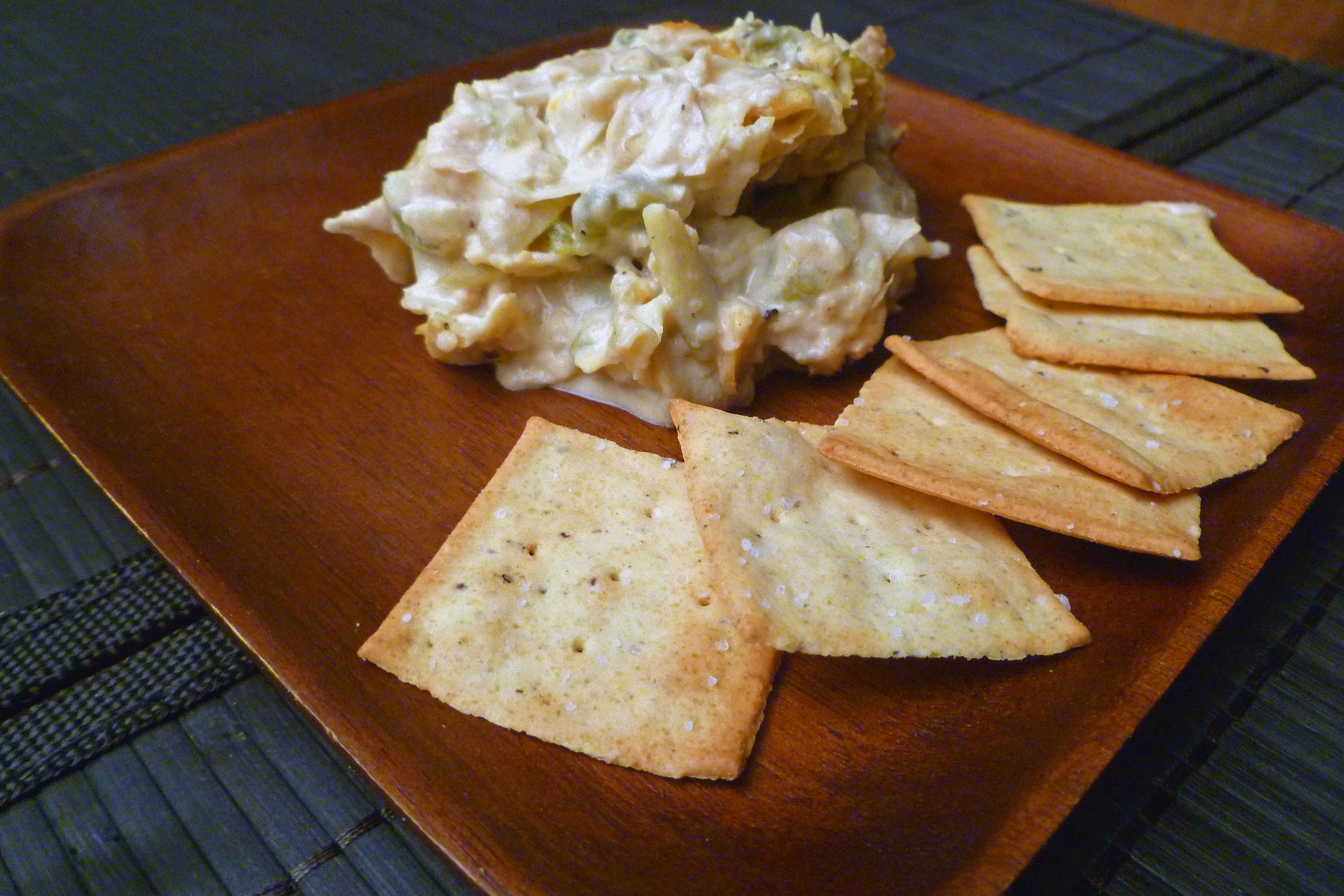 White Bean, Chile, and Artichoke Dip | Centex Cooks