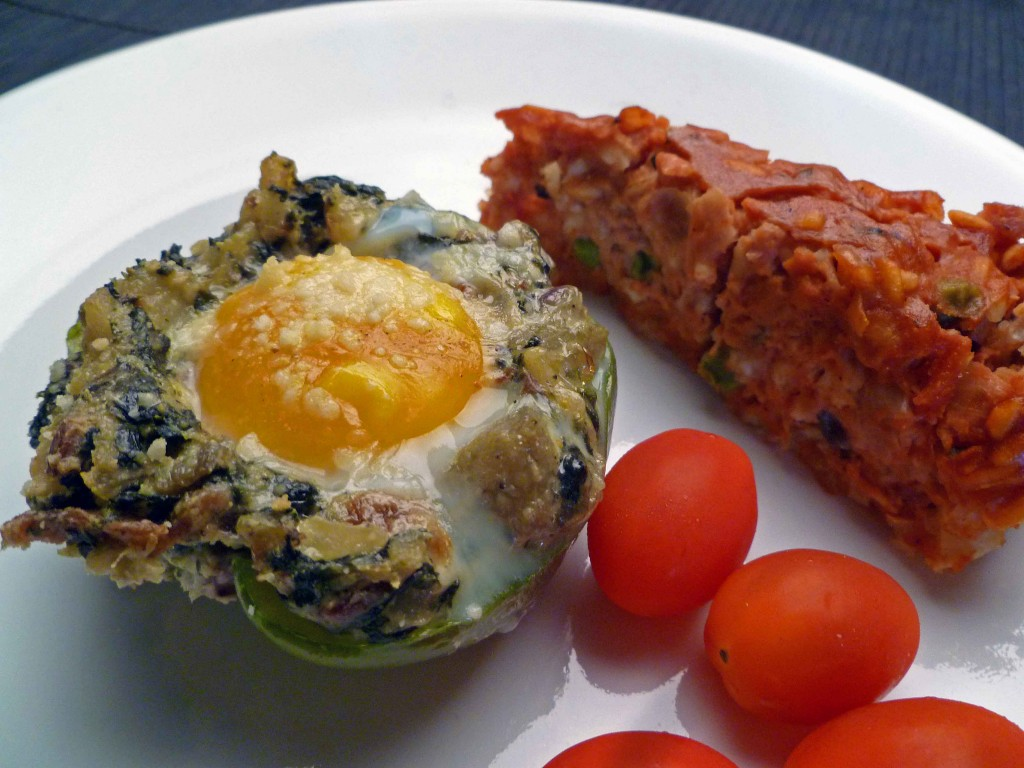 baked eggs summer squash with baked eggs baked eggs with mushrooms and ...