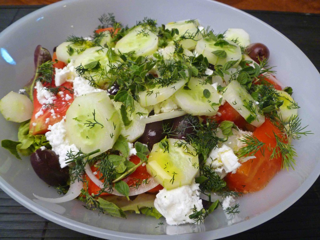 Greek Salad Recipe — Dishmaps