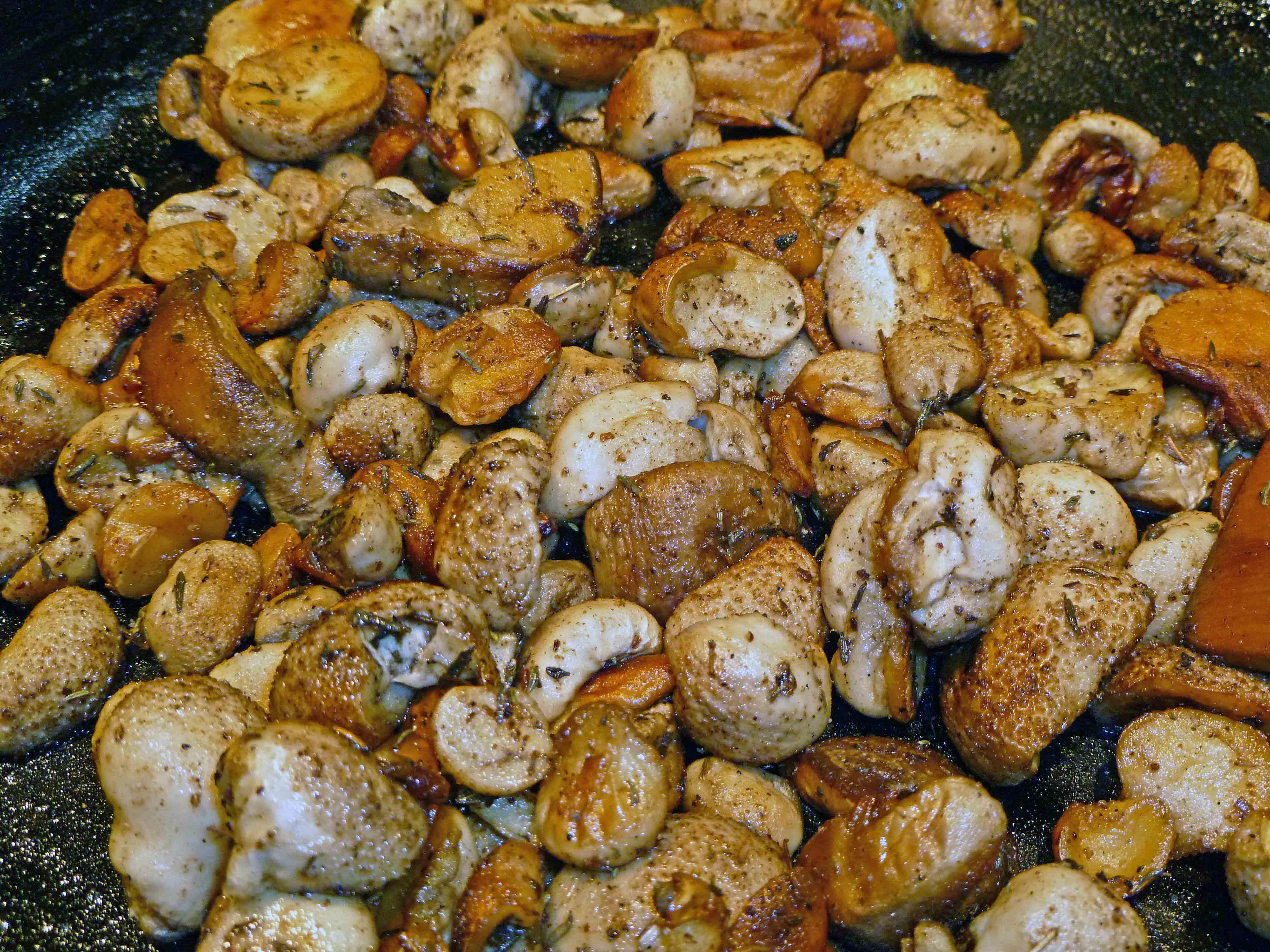 Wild Mushrooms   Centex Cooks