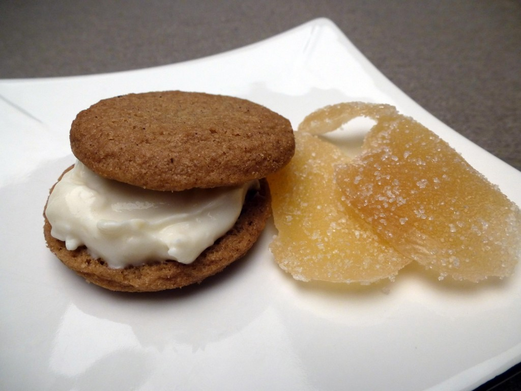 Ginger Snap Sandwich Cookie