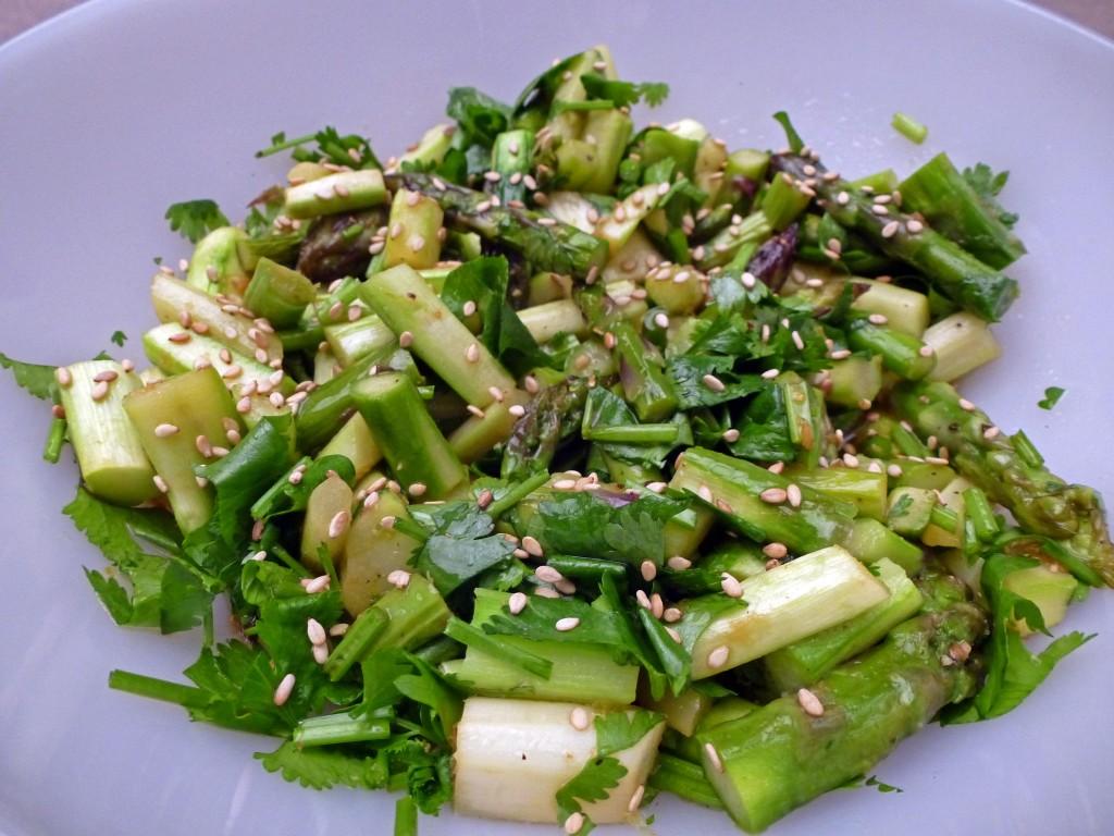 Спаржевый салат уйсун фото