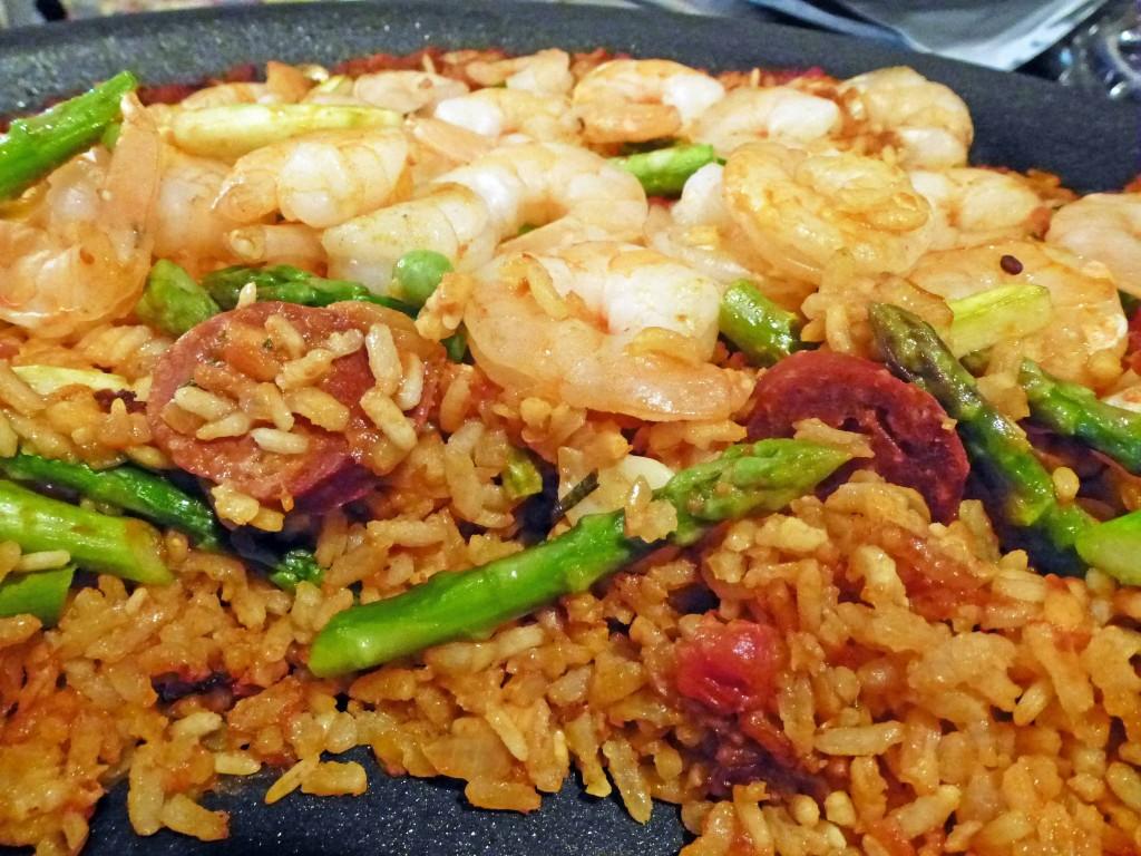 Shrimp Paella - Centex Cooks